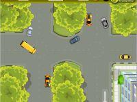 Schulbus einparken